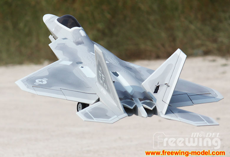 Freewing F-22 Raptor Ultra Performance 90mm EDF Jet Kit airplane