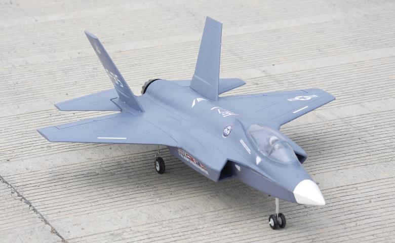 Freewing F35 Lightning II V2 70mm EDF Thrust Vectoring Jet PNP RC Airplane