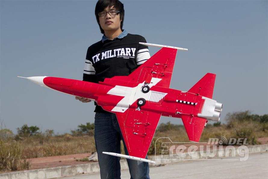 Freewing F-5 Tiger II Swiss 80mm EDF Jet PNP RC Airplane
