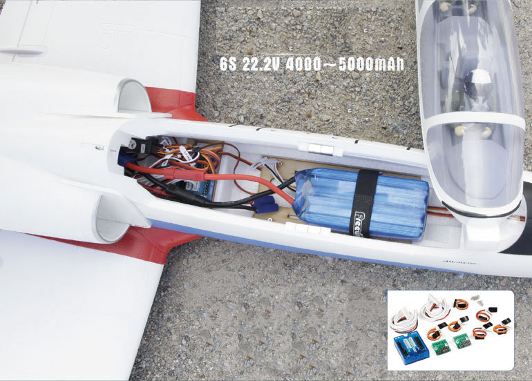 Freewing L-39 Albatros 80mm EDF Jet - PNP RC airplane
