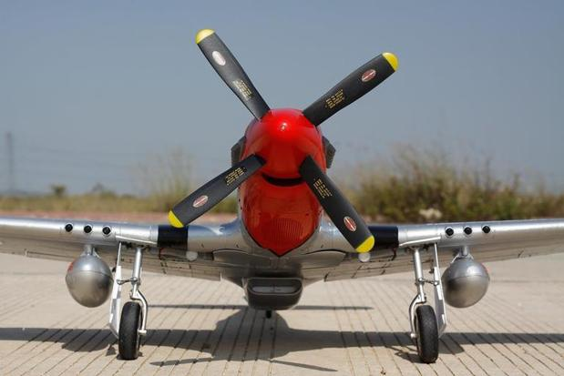 Freewing P-51D Iron Ass Super Scale 1410mm (55 inch) Wingspan - PNP RC Airplane