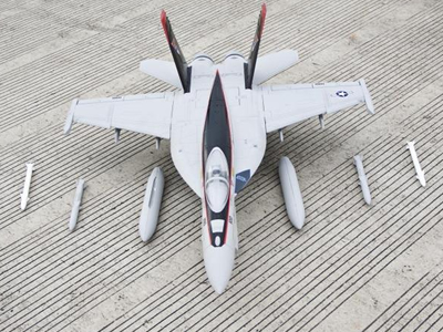 Freewing F/A-18E Hornet V2 90mm EDF Thrust Vectoring Jet - PNP RC Airplane